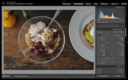 redigera bilder tips