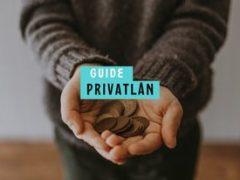 Ansöka om privatlån