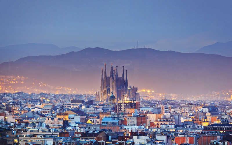 turistguide till den fantastiska staden Barcelona